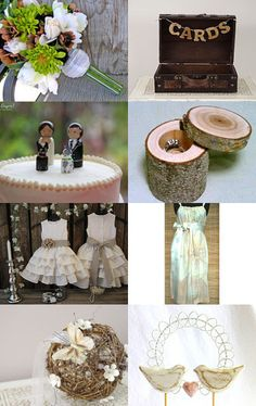 The Rustic Wedding by Green Street Mosaics