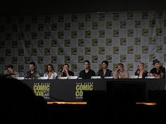 #SDCC #TVDS8 San Diego 2016 ComicCon TVD Final Panel at SDCC for Season 8 & Finale Season of TVD (07/23/16) -