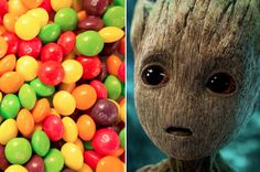 This Skittles Quiz Will Tell You Which Guardian Of The Galaxy You're Most Like