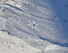 Le Snow Art de Simon Beck !