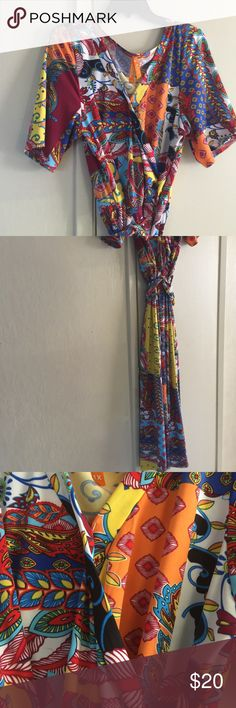 Dress Colorful super cute maxi dress Dresses