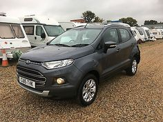 Ford Ecosport Titanium Tdci Damaged Repairable Cat D Salvage Spares Or Repairs Ford Ecosport Ford And Car Ford
