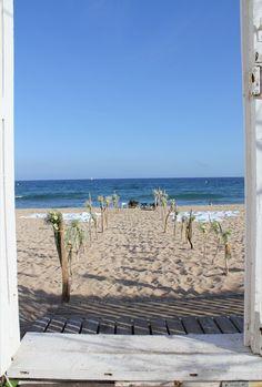 Wedding on the beach #beachwedding