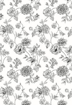 Marseilles Floral Toile on Behance