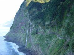 Madeira Island -Portugal Véu da Noiva ,costa norte da ilha