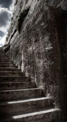 stone stairs, malta