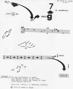 "Glenn R. Sogge ""Music For (1827) g 7 (a symphony)"" (1971/8/13)"