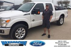 Happy Anniversary to Stephen on your #Ford #Super Duty F-250 SRW from Justin Bowers at Waxahachie Ford!  https://deliverymaxx.com/DealerReviews.aspx?DealerCode=E749  #Anniversary #WaxahachieFord