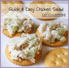 Eat What You Store: Food Storage chicken-salad