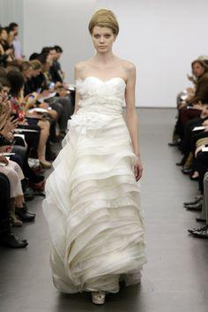 Fall 2013 Bridal Trends: TIERS OF JOY (Vera Wang Bridal Fall 2013)