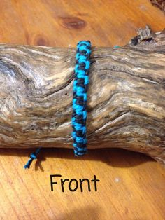 Handmade Hemp Friendship Bracelet/anklet/wristband - Lightening Bolt pattern by PurpleowlProducts on Etsy