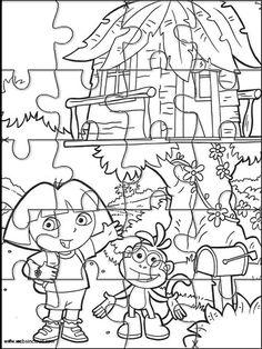 Dora The Explorer Printable Activities For Kids Online Coloring Book 144