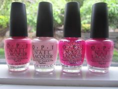 Love my pinks!