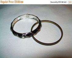50% OFF enamel bangle bracelet enamel bracelet by vintagebyrudi
