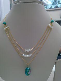 Bijoux Design, Gold Jewellery Design, Bead Jewellery, Beaded Jewelry, Jewelery, Gold Jewelry Simple, Trendy Jewelry, Fashion Jewelry, Indian Wedding Jewelry