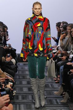 Clair Huxtable's Dream Fashion Collection Showed In London  #refinery29  http://www.refinery29.com/2015/02/82660/jw-anderson-clair-huxtable-80s-london-fashion-week-2015#slide-8