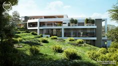 Green Villa / Robert Laguerta - Learn V-Ray