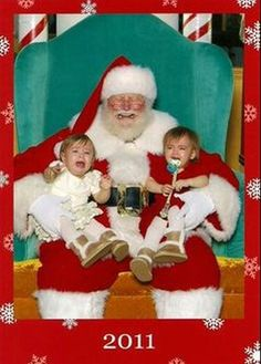 3b715d8275175 71 Awesome Funny Santa Pictures images
