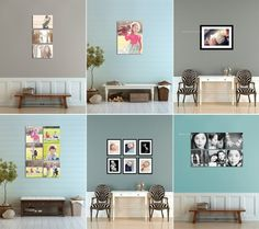 @ Wall display guides & virtual room scenes for photographers and fine artists by Ariana Falerni Design Interior Photo, Living Room Grey, Photo Displays, Nursery Wall Art, Home Decor Inspiration, Picture Frames, Wall Decor, House Design, Gallery Walls