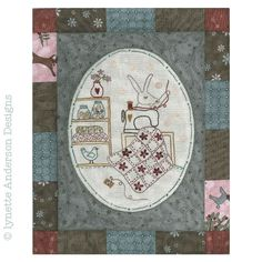 - Comforts of Home - Month 1 Craft Patterns, Quilt Patterns, Linnet, Quilt Blocks, Kids Rugs, Embroidery, Fun, Crafts, Green