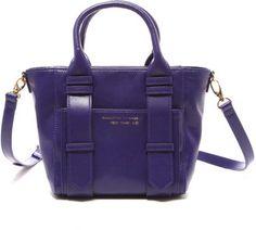 RIKACO×SAMANTHA THAVASA NEW YORK split leather bag / ShopStyle: サマンサタバサニューヨーク コラボ スプリットレザーバッグ