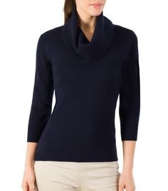 Cashmere Cowl Neck | Cashmere Jumpers | Ladies | Wool Overs