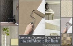 I Have Had A Love Affair With Paintable Textured Wallpaper For Many Years  Now. For