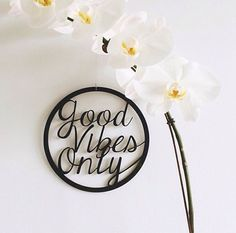wall plaque - good vibe only | arlo and co
