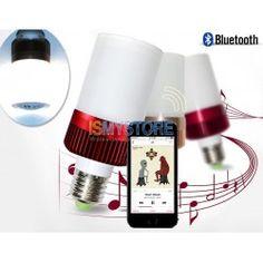 BB Speaker Wireless E27 LED Light Bluetooth Audio Speaker Music Playing Lighting Bulb