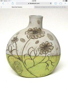 Canteen vase