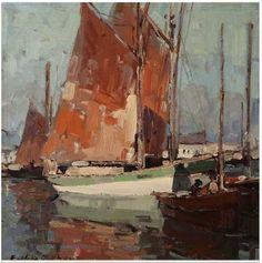 Concarneau et ses Peintres - Peintres étrangers - Edgar Alwin Payne