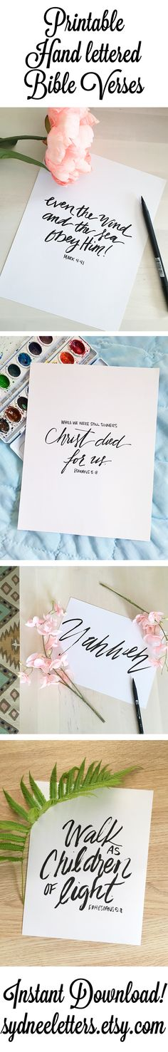 I'd prefer to draw these myself, but I think these will be good examples. Printable Bible Verses, Scripture Art, Bible Art, Bible Verses Quotes, Bible Scriptures, Chalkboard Art, Religious Quotes, God Is Good, Gods Love
