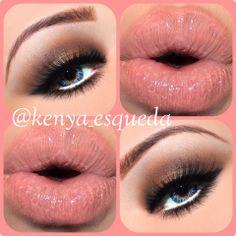 Gorgeous Bronze Eyes and Natural Lips #makeup #makeuptips #beauty #beautytips #stylishfashion #eyeshadow #eyemakeup #eyemakeuplook #eyemakeupeveryday #lips