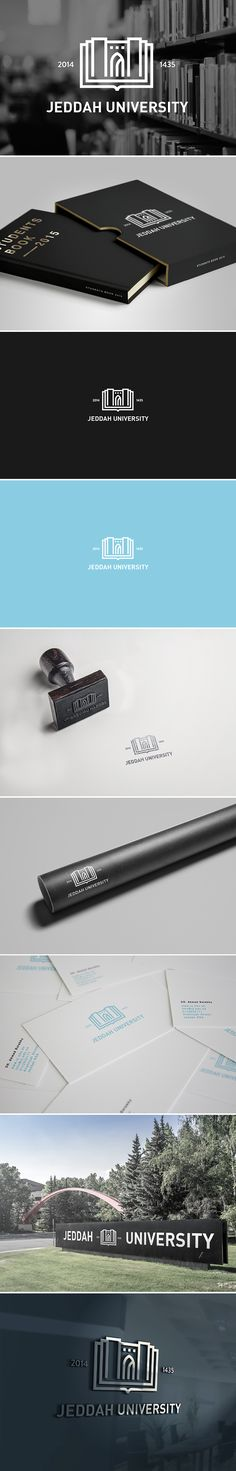 JEDDAH UNIVERSITY | Branding on Behance