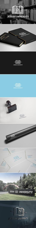 JEDDAH UNIVERSITY | Branding on Behance