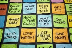 Rather than focus on the idea of a new beginning, which can lead to disappointment at the first slip, keep in mind that self-improvement is an ongoing endeavor.    #newyearresolutions #newyearsresolutions
