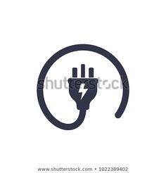 uk electric plug icon Logan, Electricity Logo, Phone Charging Stations, En Stock, Logo Design Inspiration, Visual Identity, Egypt, Logo Ideas, Charger