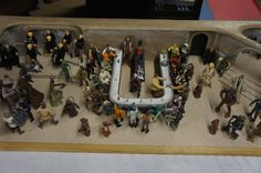 Star Wars Cantina diorama playsets Hand-Made custom +76 figures