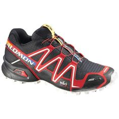 Save $ 35.18 order now Salomon Spikecross 3 CS Shoe Black / Bright Red / Cane 6.