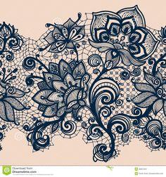 Abstract Lace Ribbon Stock Image - Image: 36657041