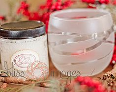 home made scrub and frosted candles  teacher gifts?