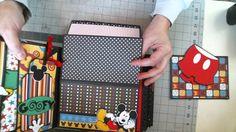 Disney Scrapbook 8 x 8 Interactive Album
