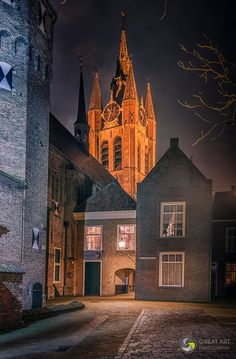 Delft The Netherlands Delft, Utrecht, Rotterdam, Watercolor Architecture, Europe, City Scene, Cool Landscapes, Belgium, Barcelona Cathedral