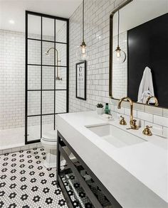 ... Modern Bathroom Vanity #3 - Modern Farmhouse Bathrooms House Of Hargrove ...