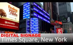 #TimesSquare #digitalsignage #retail #nrf16 #NRFBigShow  https://youtu.be/Zh-PYFmqK40