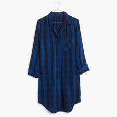 Madewell - Latitude Shirtdress in Buffalo Check