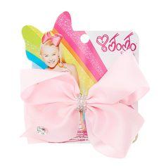 Claires : Jojo Siwa Small Rhinestone Keeper Pink Hair Bow