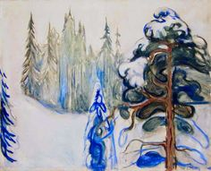 Winter: Edvard Munch, 1899.