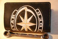 Handmade Leather Wallet for MenBiker  Classic Bi-Fold