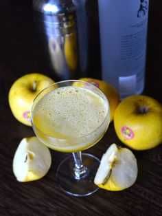 Caramel Apple Martini from @Stephanie Manley | Menus Kitchen PLAY